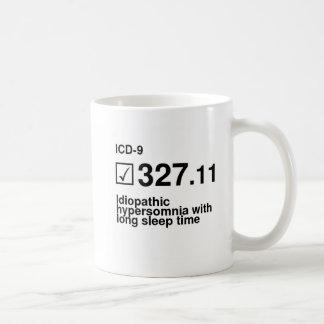 Caneca De Café 327,11, hypersomnia idiopático com sono longo tim