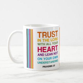 Caneca De Café 3:5 dos provérbio