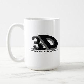 Caneca De Café 3D - Destinado & determinado dinâmicos