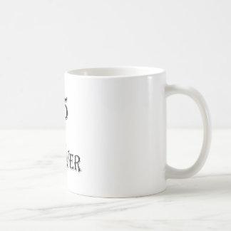 Caneca De Café 45 e para sempre design do aniversário