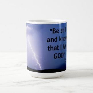 Caneca De Café 46:10 do salmo