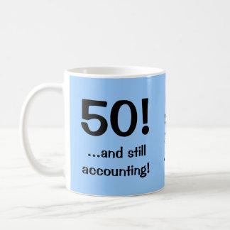 Caneca De Café 50. .and ainda que explicam! Aniversário do