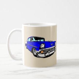 Caneca De Café 57 Bel Air azul escuro