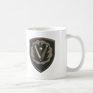 Caneca De Café 59th Remendo das insígnias da brigada da ordenança