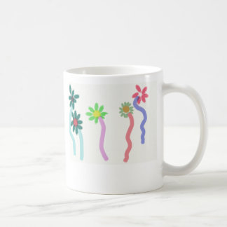 Caneca De Café 5 flores, amigos são como flores… o mais…