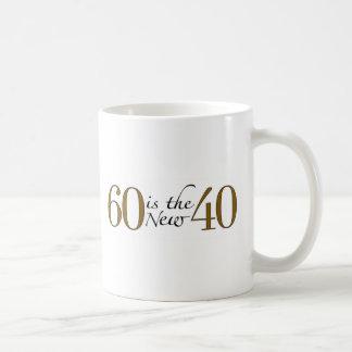 Caneca De Café 60 são os 40 novos