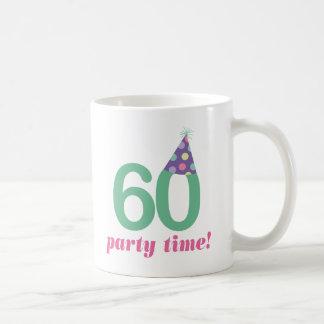 Caneca De Café 60th Ideias do presente de aniversário