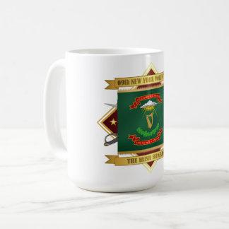 Caneca De Café 69th Infantaria voluntária de New York