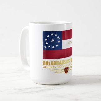Caneca De Café 8o Infantaria de Arkansas (2)