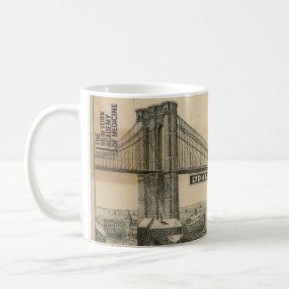 Caneca De Café A academia de New York da medicina - ponte de