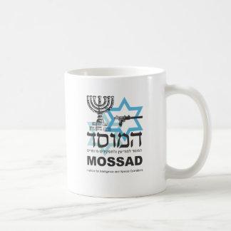 Caneca De Café A agência israelita de Mossad