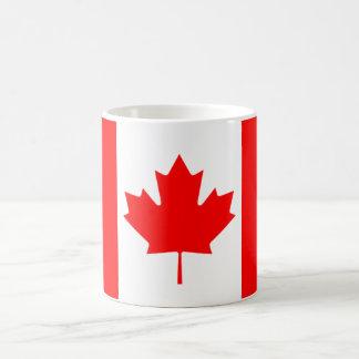 Caneca De Café A bandeira canadense, Canadá