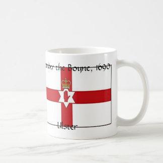 Caneca De Café A bandeira de Irlanda do Norte, Ulster, recorda o