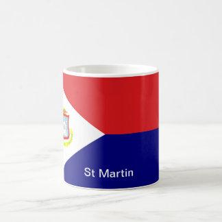 Caneca De Café A bandeira de St Martin
