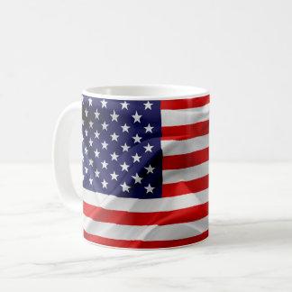 Caneca De Café A bandeira dos Estados Unidos da América