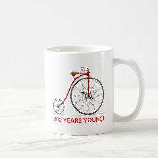 Caneca De Café A bicicleta está comemorando 200 jovens!