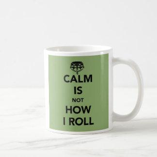 Caneca De Café A calma não é como eu rolo