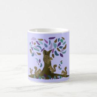 Caneca De Café A casa na árvore do esquilo