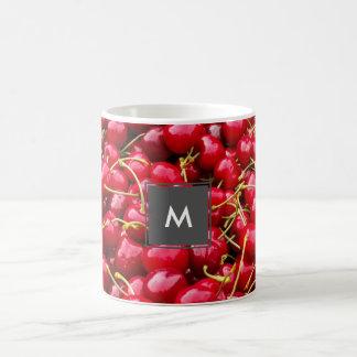 Caneca De Café a cereja vermelha bonito deliciosa frutifica
