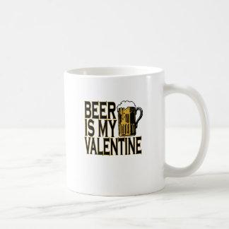 Caneca De Café a cerveja é minha camisa engraçada dos anti