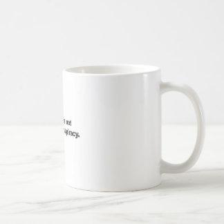 Caneca De Café A ciência não é uma conspiração liberal