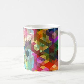Caneca De Café A cor cuba a geometria