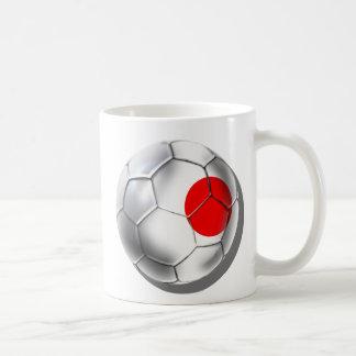 Caneca De Café A equipe de futebol azul do samurai de Japão