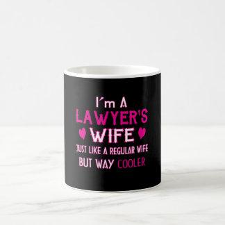 Caneca De Café A esposa do advogado