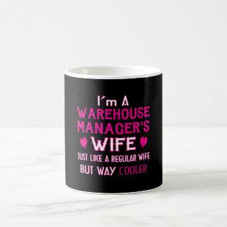 Caneca De Café A esposa do gerente do armazém