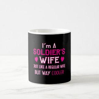 Caneca De Café A esposa do soldado