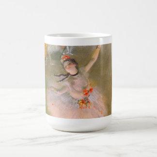 Caneca De Café A estrela (dançarino no palco) por Edgar Degas