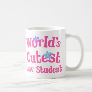 Caneca De Café A estudante de Direito a mais bonito dos mundos