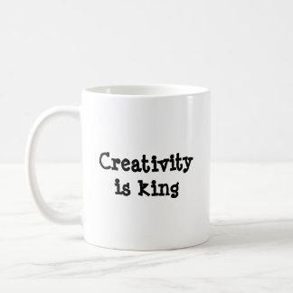 Caneca De Café A faculdade criadora é rei