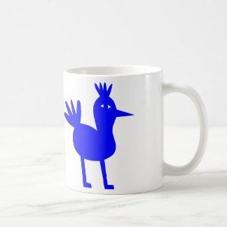 Caneca De Café A felicidade do Bluebird aprecia seu café