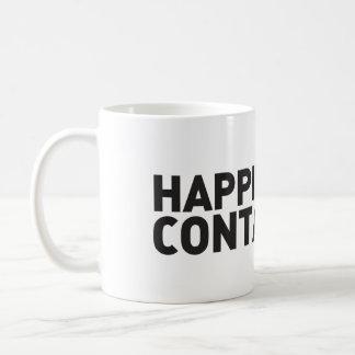 Caneca De Café A felicidade é contagioso