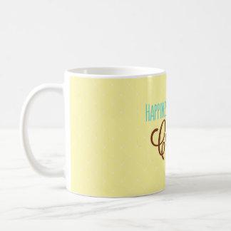 Caneca De Café A felicidade é uma chávena de café