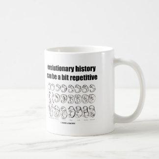 Caneca De Café a história evolucionária pode ser um bocado