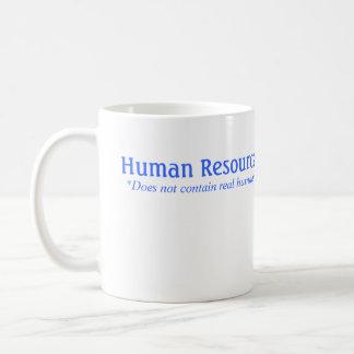 Caneca De Café A hora não contem seres humanos reais