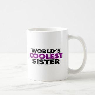 Caneca De Café A irmã a mais fresca dos mundos