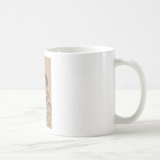 Caneca De Café A irmã do artista de Egon Schiele- na lei