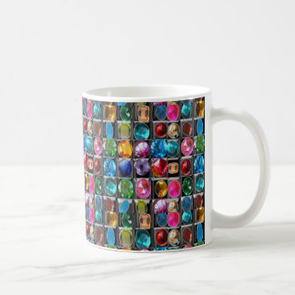Caneca De Café A jóia de cristal apedreja o teste padrão
