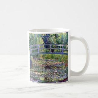 Caneca De Café A lagoa do lírio de água por Claude Monet