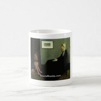 Caneca De Café A mãe do assobiador com Wimsey o Bloodhound