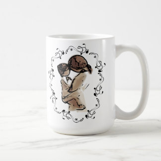 Caneca De Café A mãe guardara o dia das mães do coração da