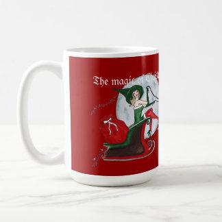 Caneca De Café A mágica do Natal