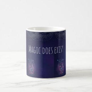 Caneca De Café A mágica existe frasco do vaga-lume