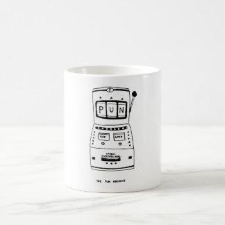 Caneca De Café A máquina da chalaça