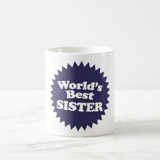 Caneca De Café A melhor irmã do mundo