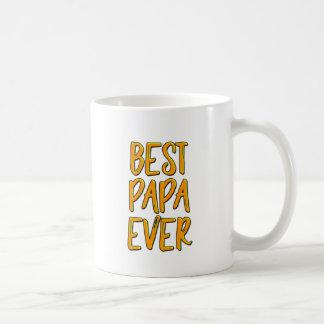 Caneca De Café A melhor papá nunca