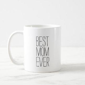 Caneca De Café A melhor tipografia sempre moderna da mamã